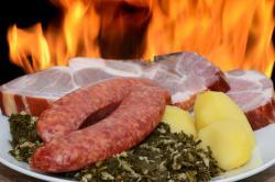 Kohlwurst / Kochmettwurst von der Pute -wieder ab Herbst -